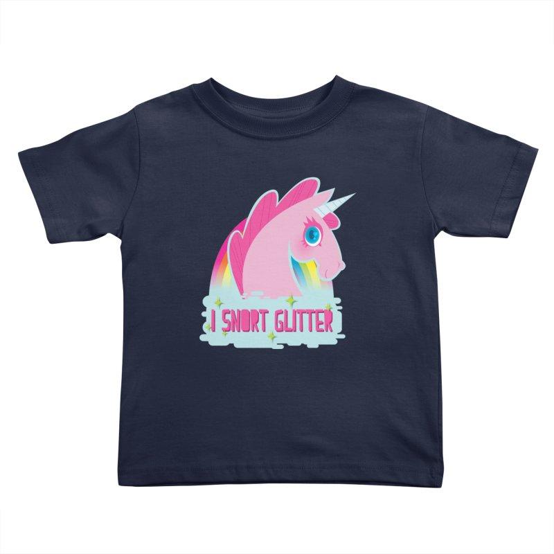 Snort Kids Toddler T-Shirt by kathudsonart's Artist Shop