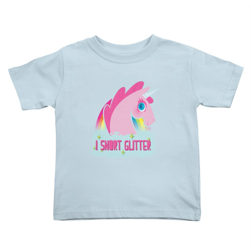 Snort Kids Toddler T-Shirt by kathudsonart's Artist Shop