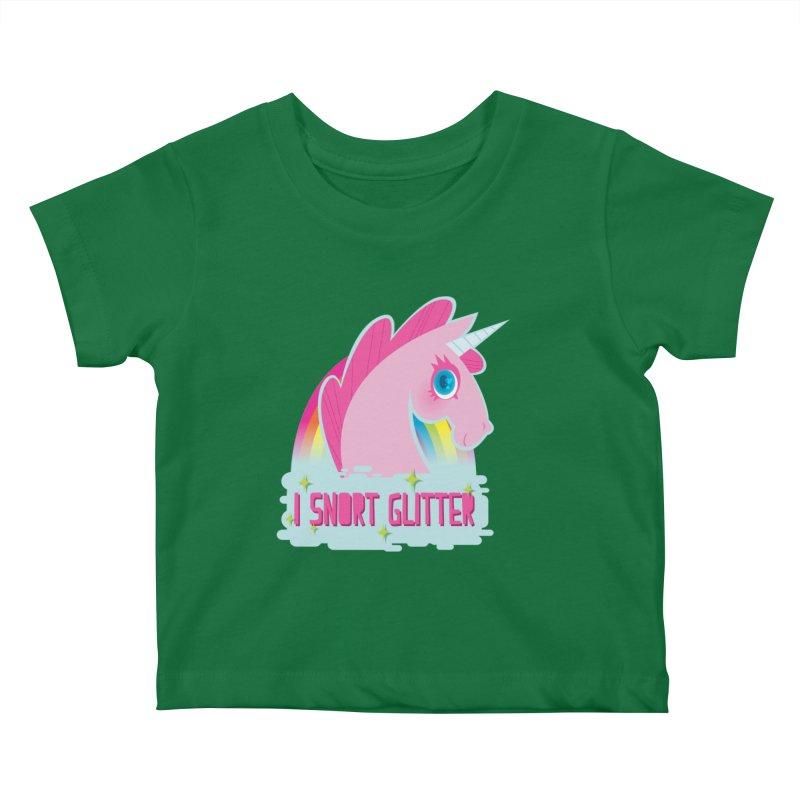 Snort Kids Baby T-Shirt by kathudsonart's Artist Shop