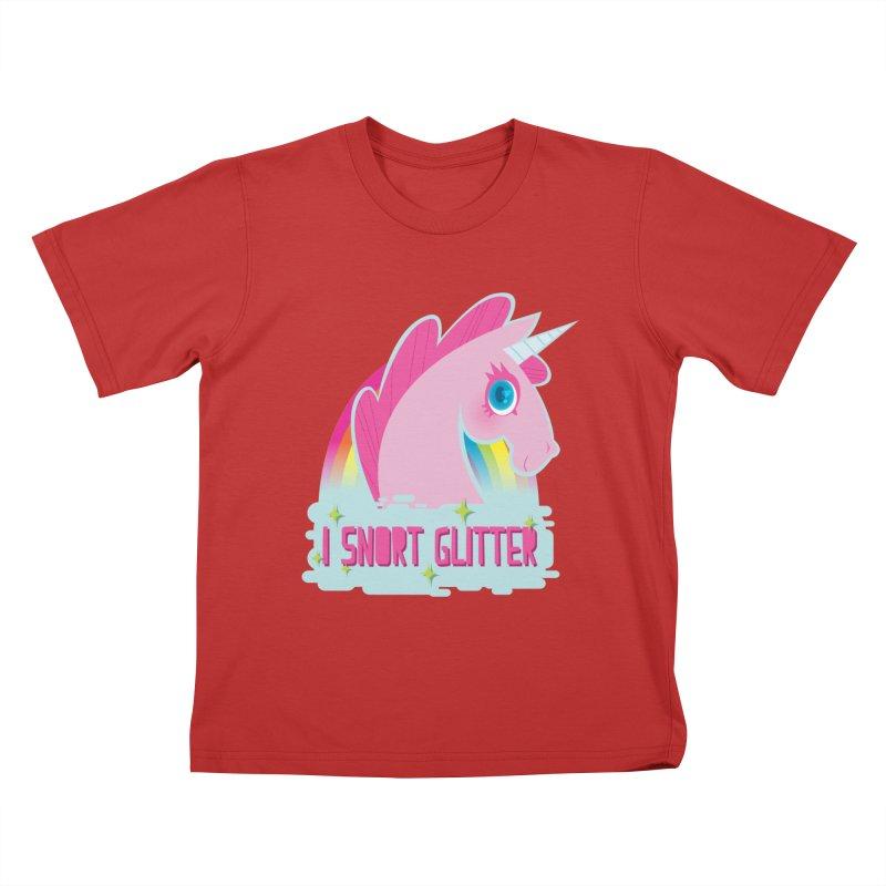 Snort Kids T-Shirt by kathudsonart's Artist Shop