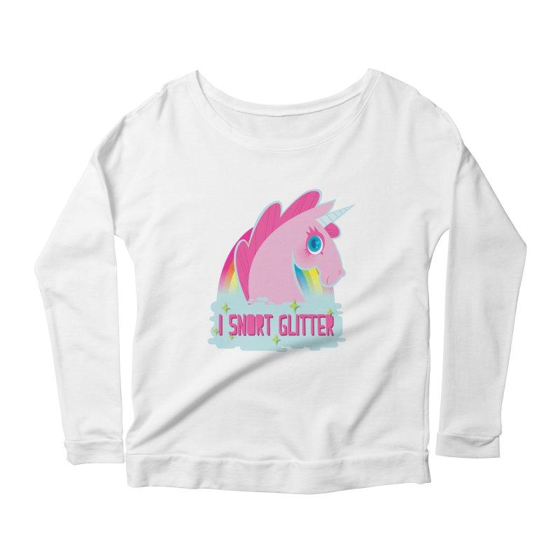 Snort Women's Scoop Neck Longsleeve T-Shirt by kathudsonart's Artist Shop