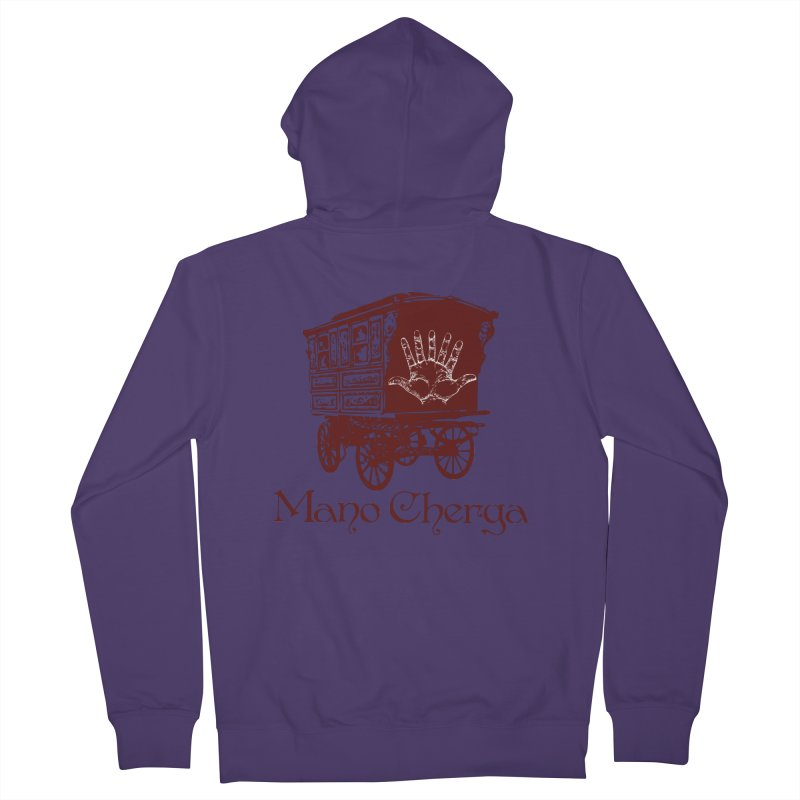 The Mano Cherga Band Women's Zip-Up Hoody by Katia Goa's Artist Shop