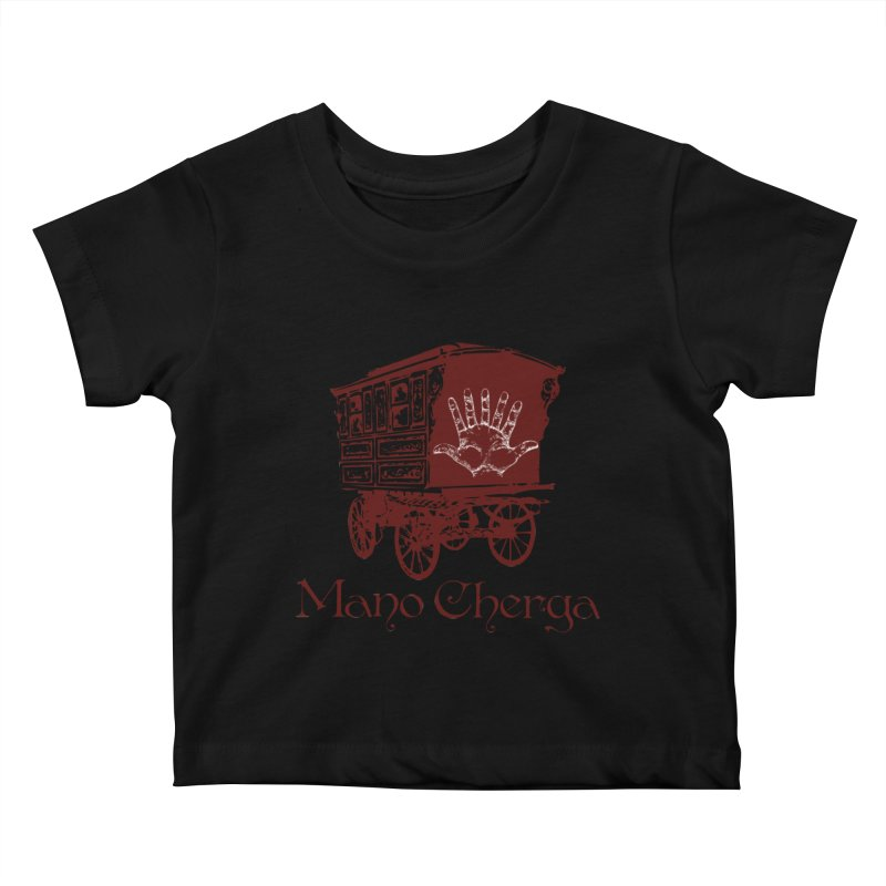 The Mano Cherga Band Kids Baby T-Shirt by Katia Goa's Artist Shop