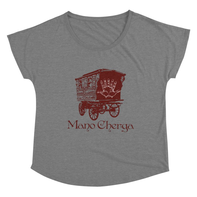 The Mano Cherga Band Women's Scoop Neck by Katia Goa's Artist Shop