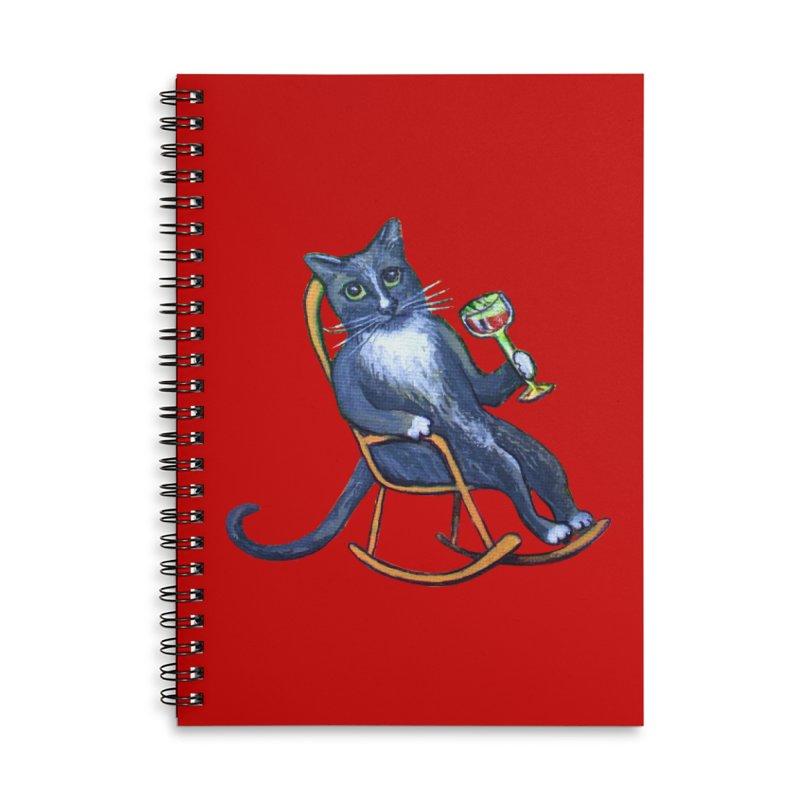 Dj Mittes Accessories Notebook by Katia Goa's Artist Shop