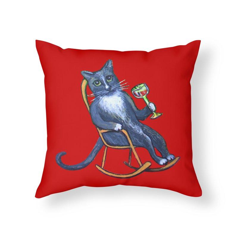 Dj Mittes Home Throw Pillow by Katia Goa's Artist Shop