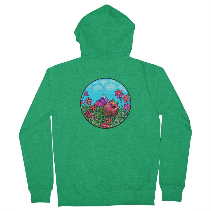 """Summer Hater"" Men's Zip-Up Hoody by Katia Goa's Artist Shop"