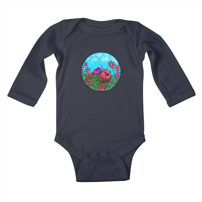 """Summer Hater"" Kids Baby Longsleeve Bodysuit by Katia Goa's Artist Shop"