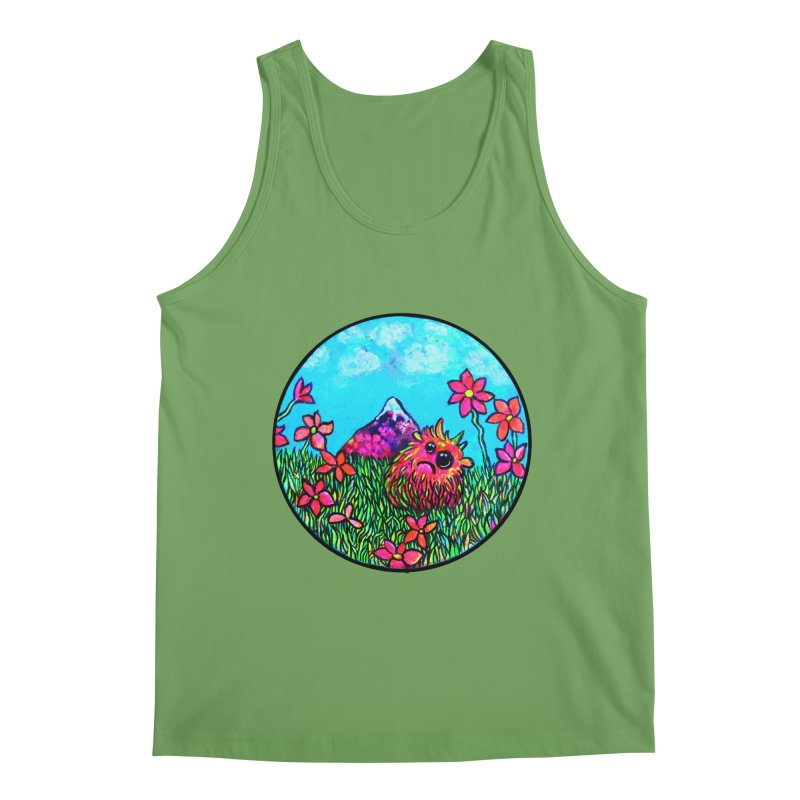 """Summer Hater"" Men's Tank by Katia Goa's Artist Shop"