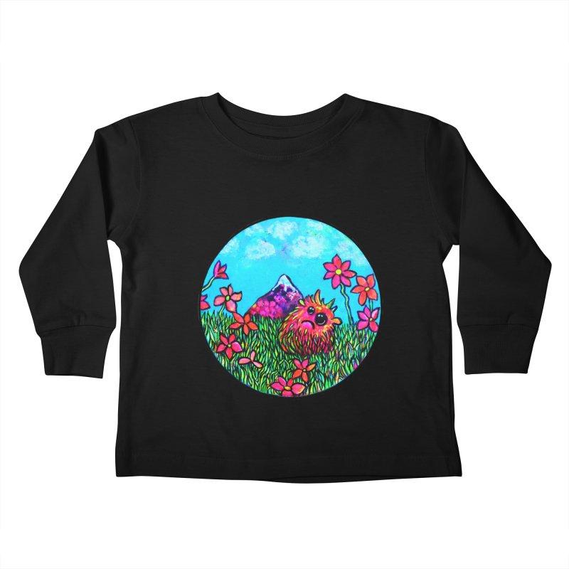 """""""Summer Hater"""" Kids Toddler Longsleeve T-Shirt by Katia Goa's Artist Shop"""