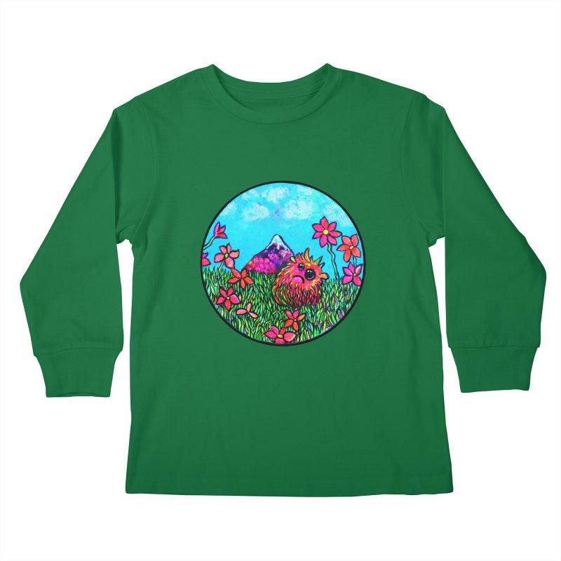 """""""Summer Hater"""" Kids Longsleeve T-Shirt by Katia Goa's Artist Shop"""
