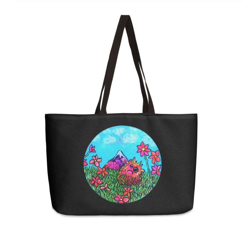 """Summer Hater"" Accessories Bag by Katia Goa's Artist Shop"