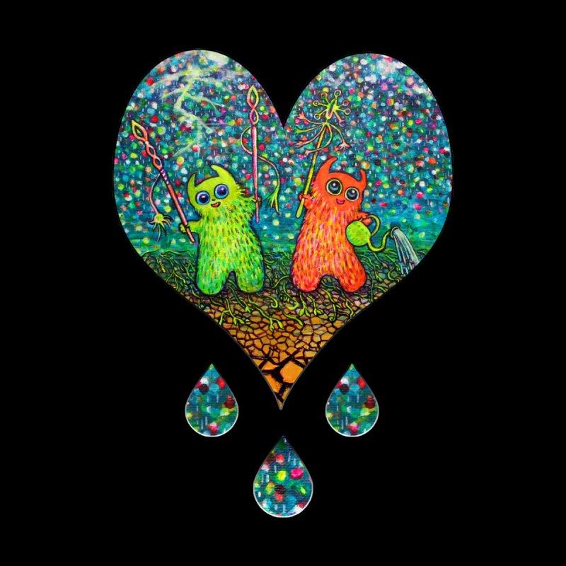 Rain Dance Heart Women's Zip-Up Hoody by Katia Goa's Artist Shop