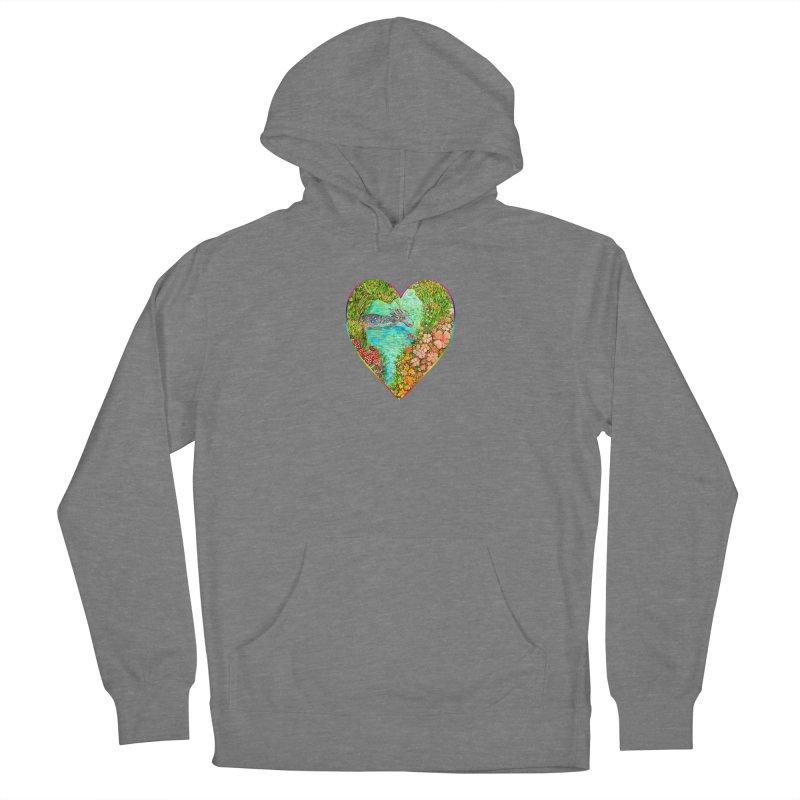 Dragon Heart Women's Pullover Hoody by Katia Goa's Artist Shop
