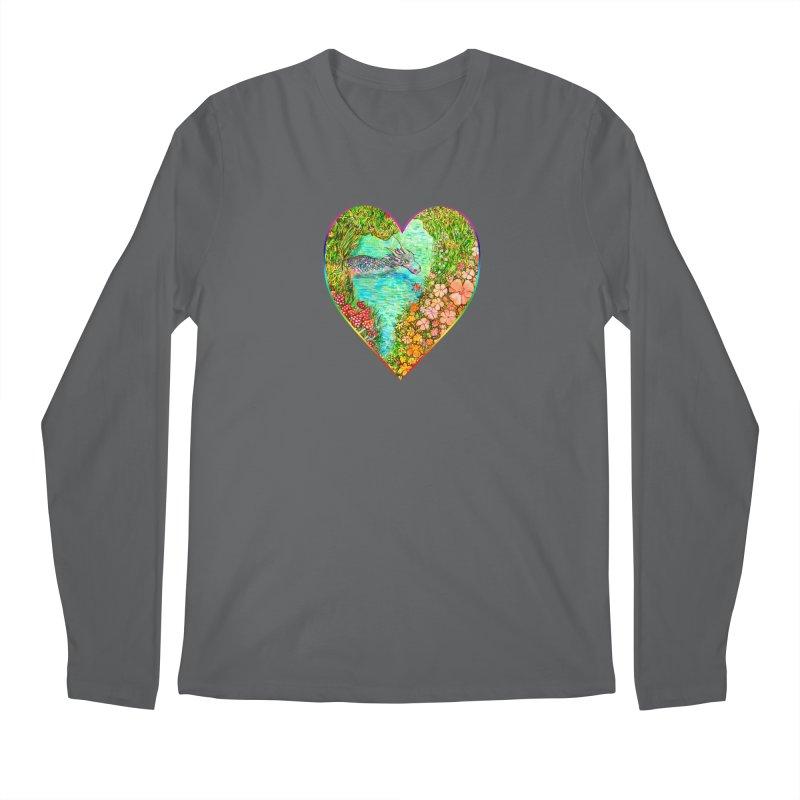 Dragon Heart Men's Longsleeve T-Shirt by Katia Goa's Artist Shop