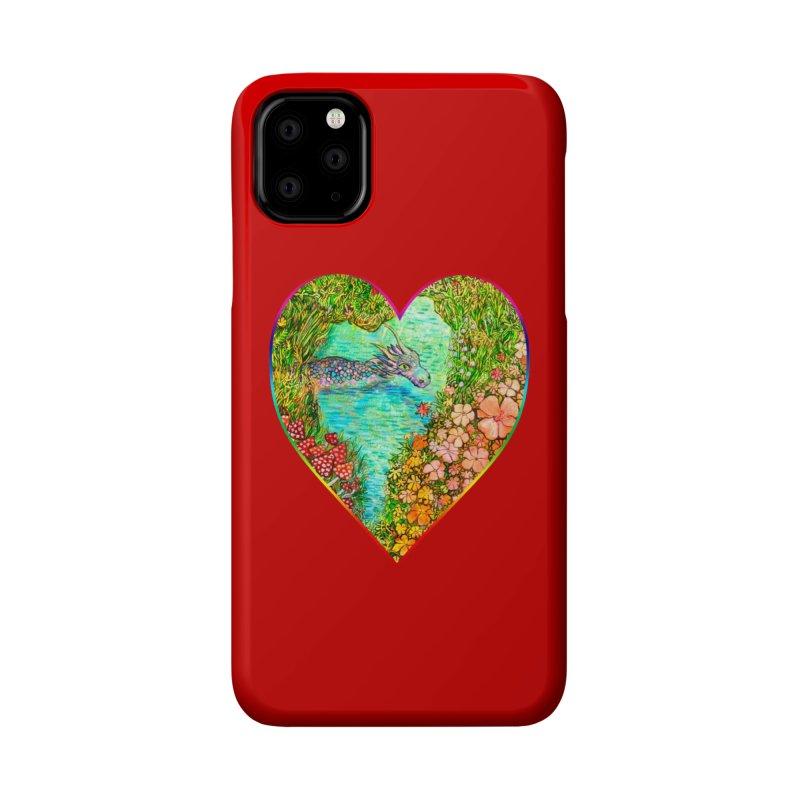 Dragon Heart Accessories Phone Case by Katia Goa's Artist Shop