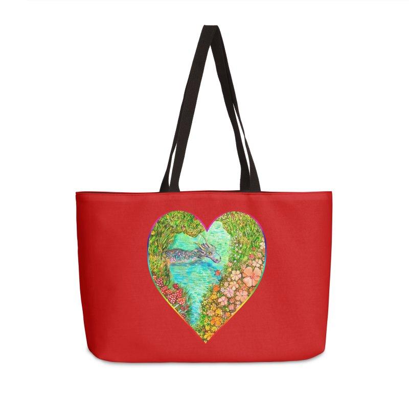 Dragon Heart Accessories Bag by Katia Goa's Artist Shop