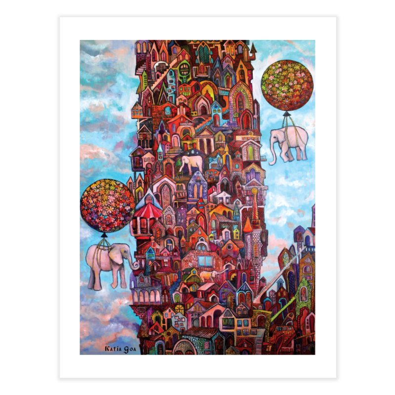 No Name City Home Fine Art Print by Katia Goa's Artist Shop