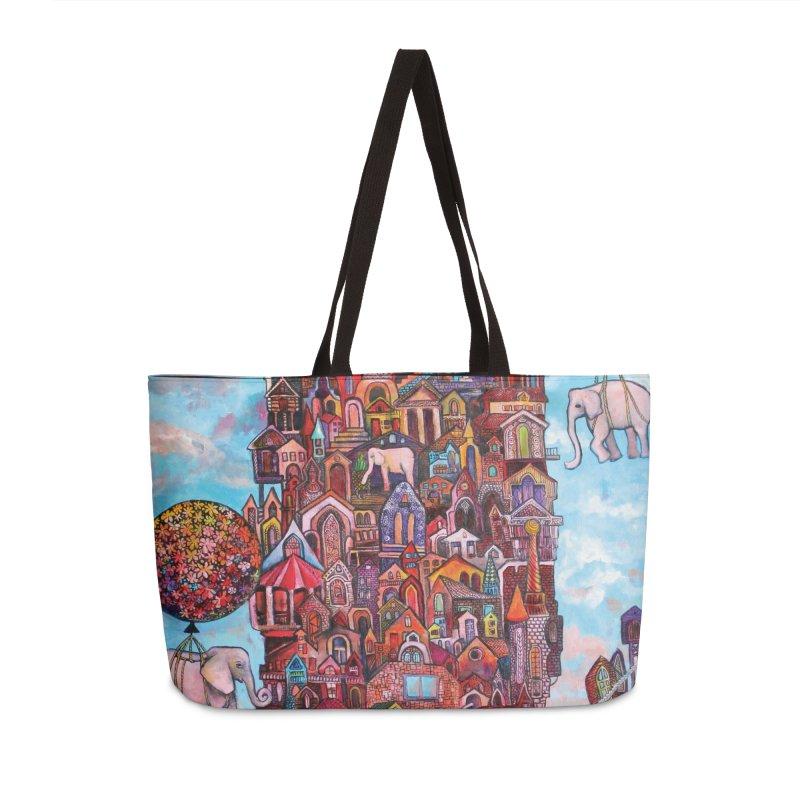 No Name City Accessories Bag by Katia Goa's Artist Shop