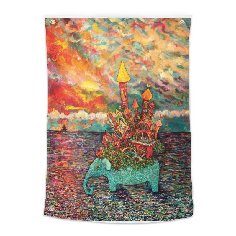 Warm Waters Home Tapestry by Katia Goa's Artist Shop