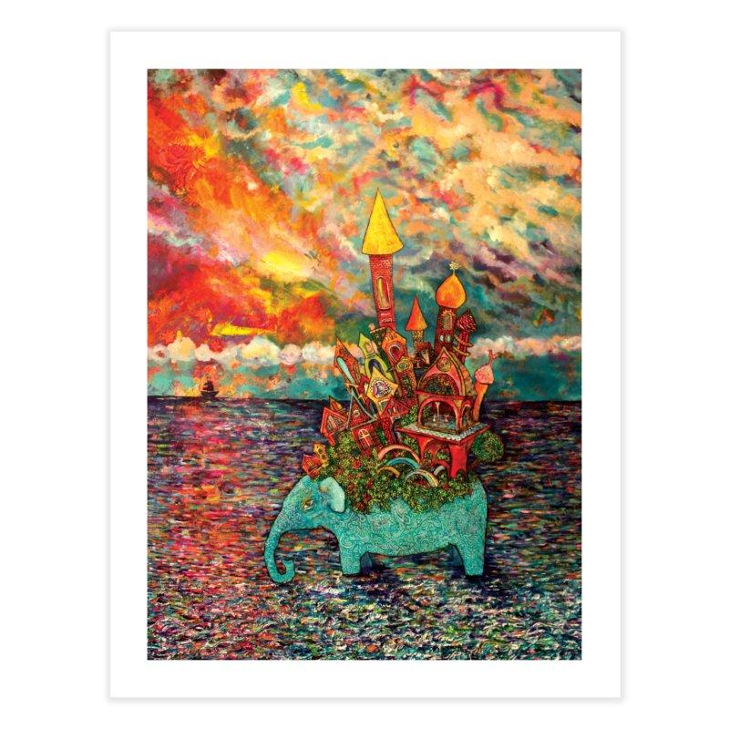 Warm Waters Home Fine Art Print by Katia Goa's Artist Shop