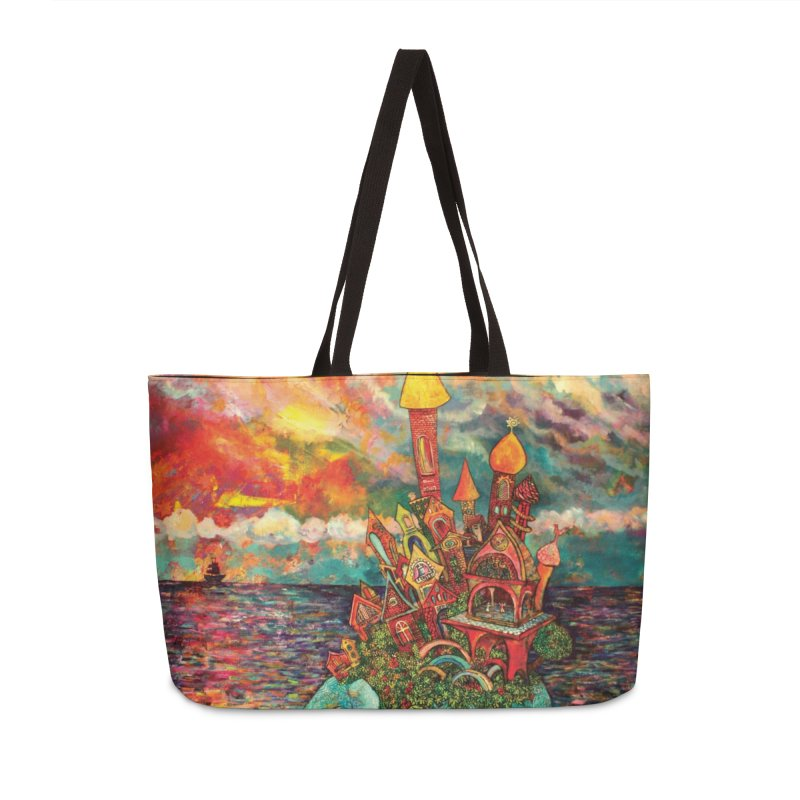 Warm Waters Accessories Bag by Katia Goa's Artist Shop