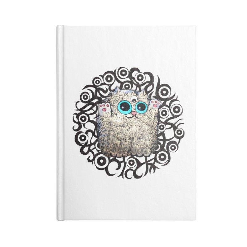 Googliati KirryCat Accessories Notebook by Katia Goa's Artist Shop