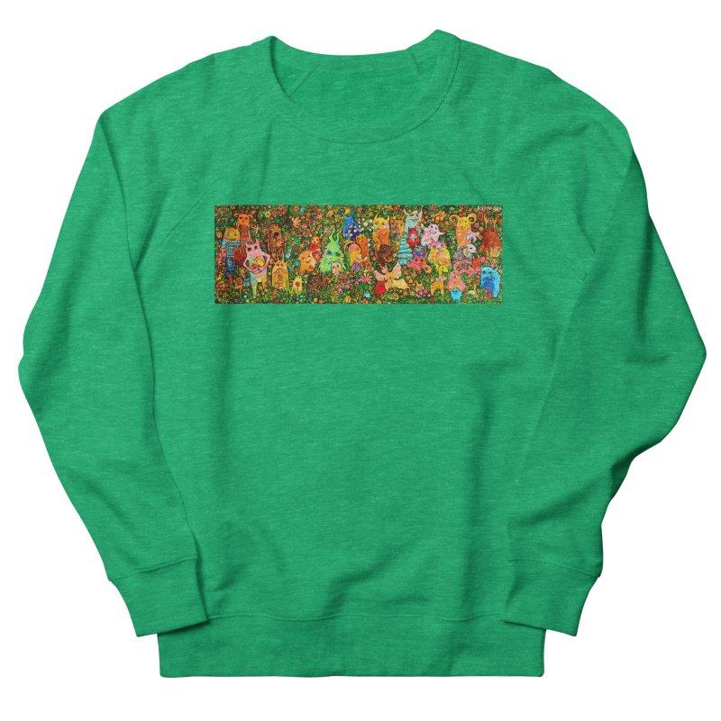 Happy Meadow Women's Sweatshirt by Katia Goa's Artist Shop