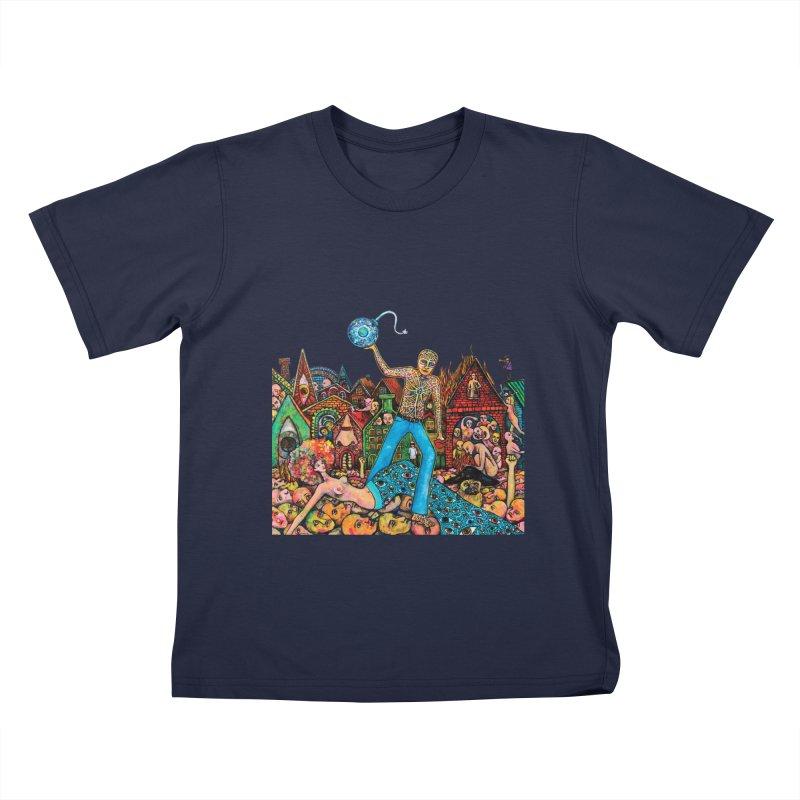 A Cloud in Trousers Kids T-Shirt by Katia Goa's Artist Shop
