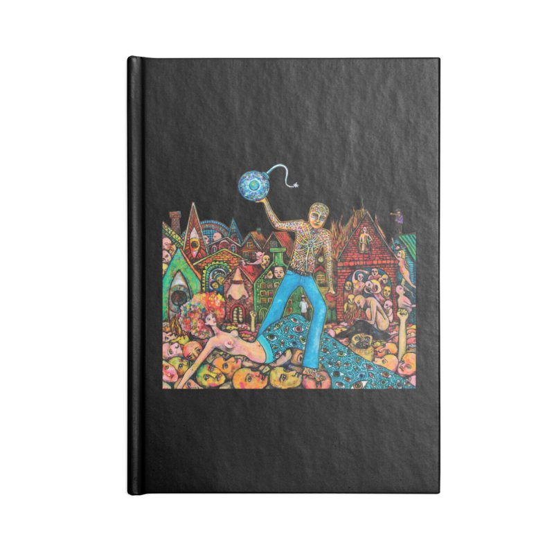 A Cloud in Trousers Accessories Notebook by Katia Goa's Artist Shop