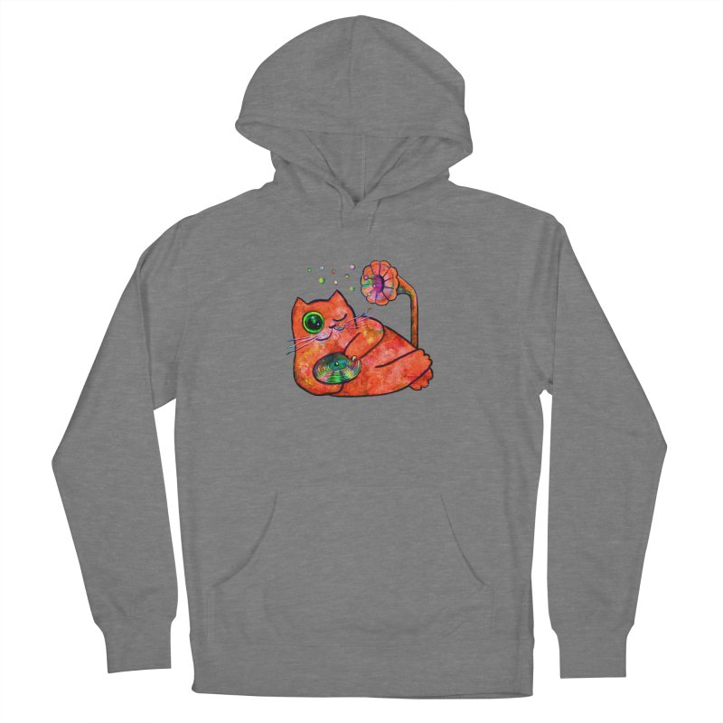 """""""This Song is for you"""" Dj Fat Cat Women's Pullover Hoody by Katia Goa's Artist Shop"""