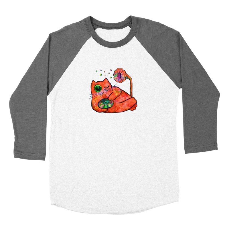 """""""This Song is for you"""" Dj Fat Cat Women's Longsleeve T-Shirt by Katia Goa's Artist Shop"""