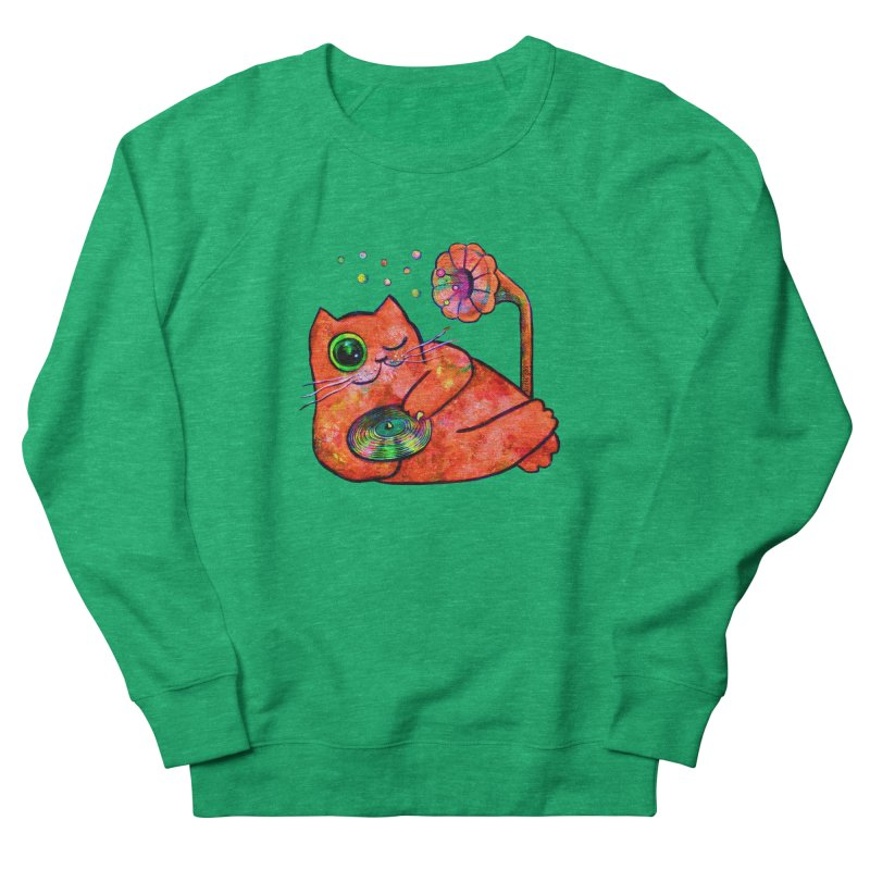 """""""This Song is for you"""" Dj Fat Cat Women's Sweatshirt by Katia Goa's Artist Shop"""