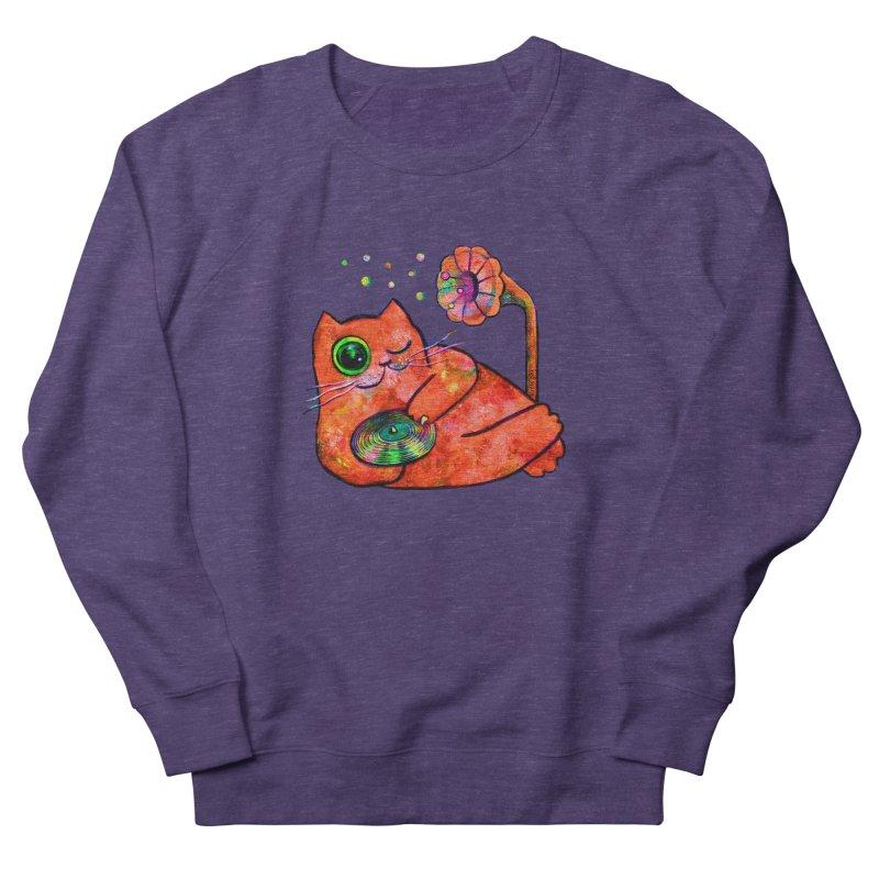 """This Song is for you"" Dj Fat Cat Men's Sweatshirt by Katia Goa's Artist Shop"