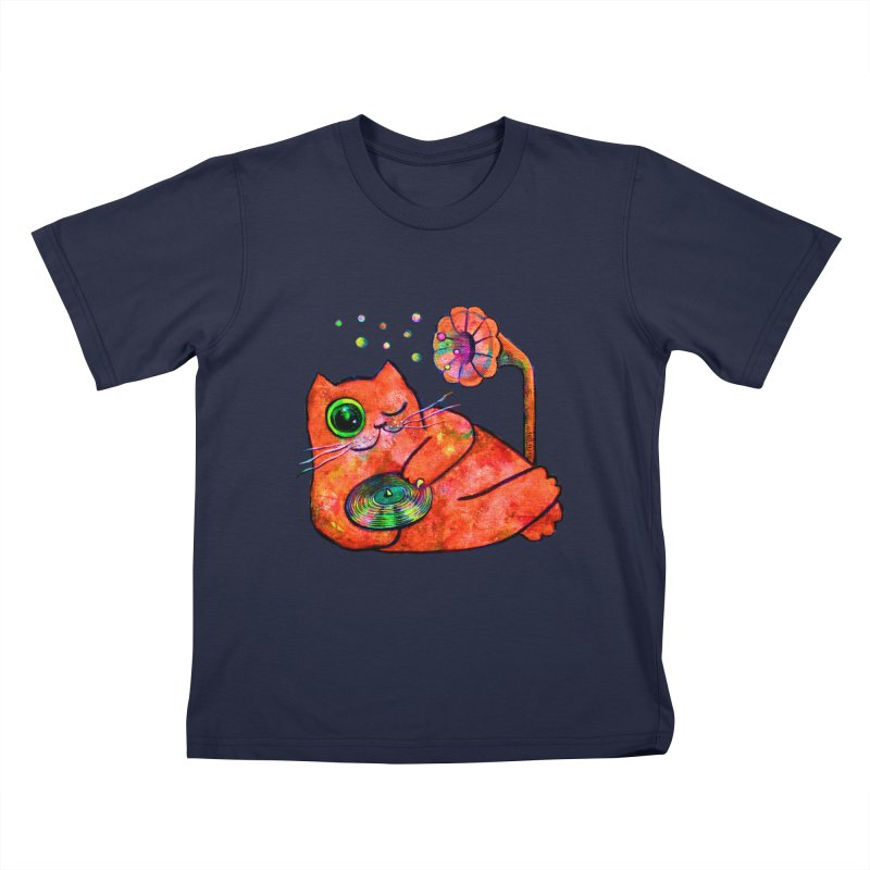 """""""This Song is for you"""" Dj Fat Cat Kids T-Shirt by Katia Goa's Artist Shop"""
