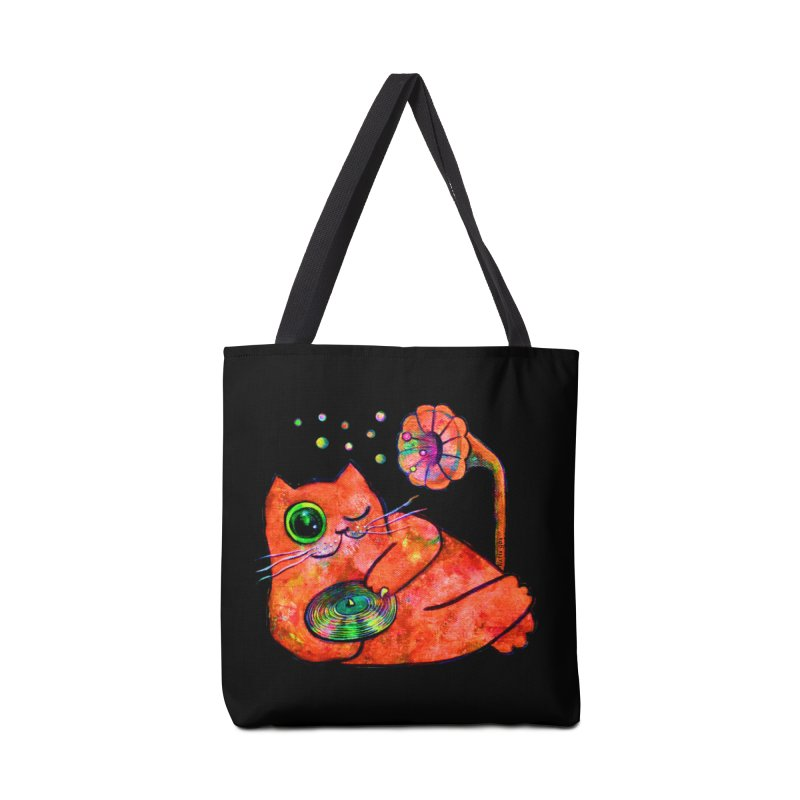 """""""This Song is for you"""" Dj Fat Cat Accessories Bag by Katia Goa's Artist Shop"""