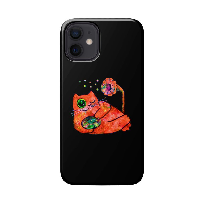 """""""This Song is for you"""" Dj Fat Cat Accessories Phone Case by Katia Goa's Artist Shop"""