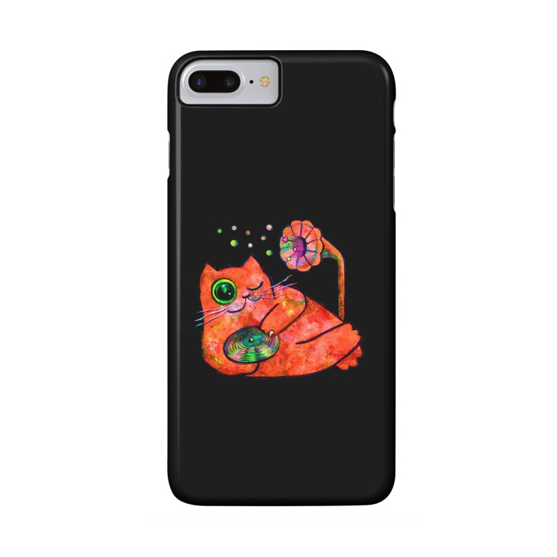 """This Song is for you"" Dj Fat Cat Accessories Phone Case by Katia Goa's Artist Shop"