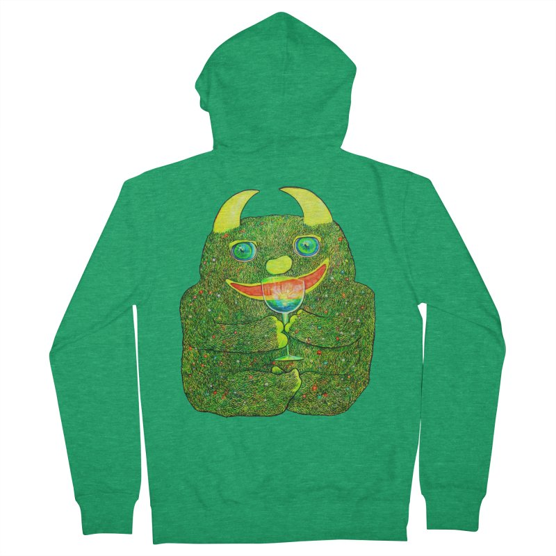 """Liquid Sunshine"" Men's Zip-Up Hoody by Katia Goa's Artist Shop"