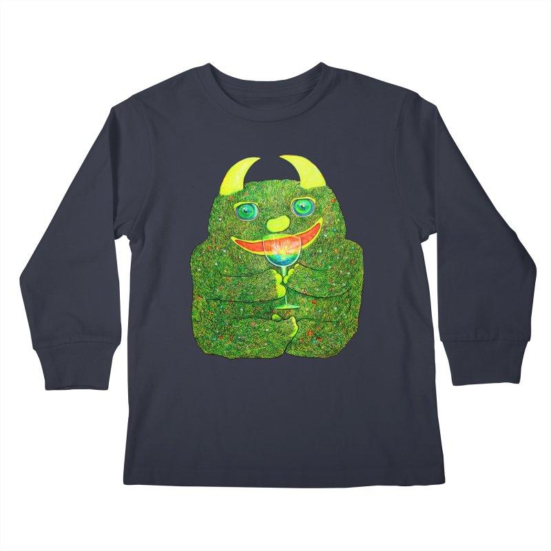 """Liquid Sunshine"" Kids Longsleeve T-Shirt by Katia Goa's Artist Shop"
