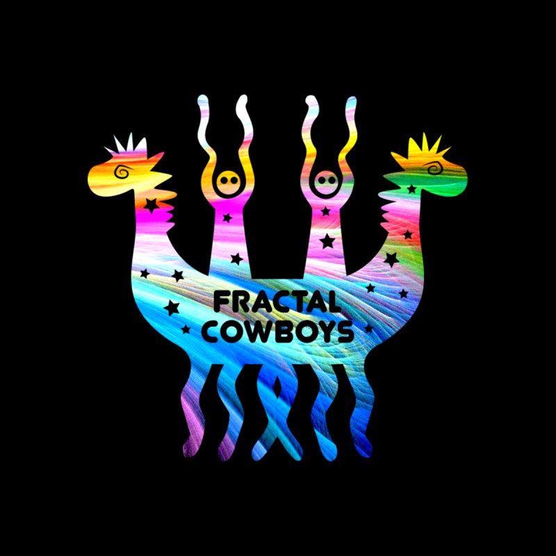 Fractal Cowboys Accessories Mug by Katia Goa's Artist Shop