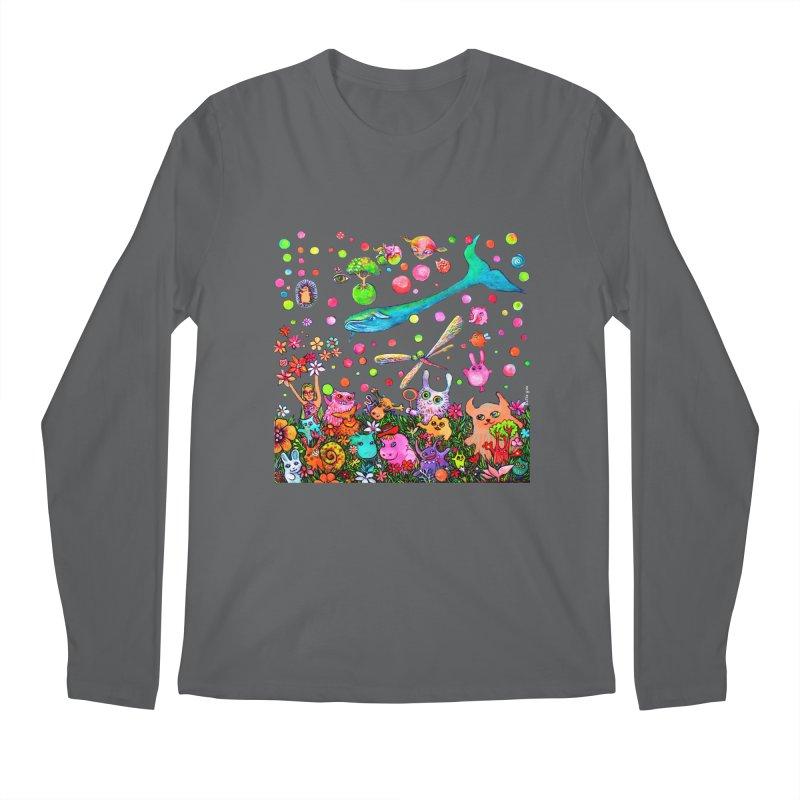 Polka Dots Men's Longsleeve T-Shirt by Katia Goa's Artist Shop