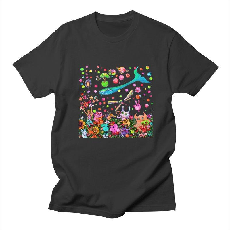 Polka Dots Men's T-Shirt by Katia Goa's Artist Shop