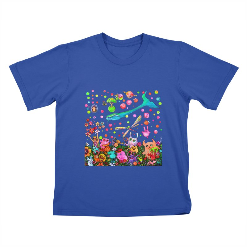 Polka Dots Kids T-Shirt by Katia Goa's Artist Shop