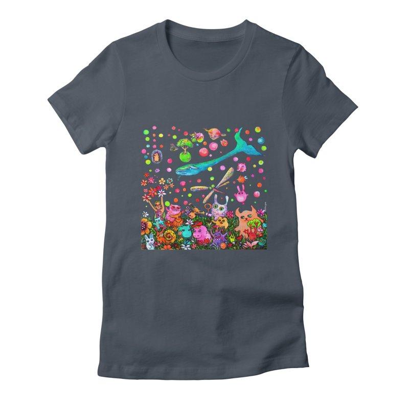 Polka Dots Women's T-Shirt by Katia Goa's Artist Shop