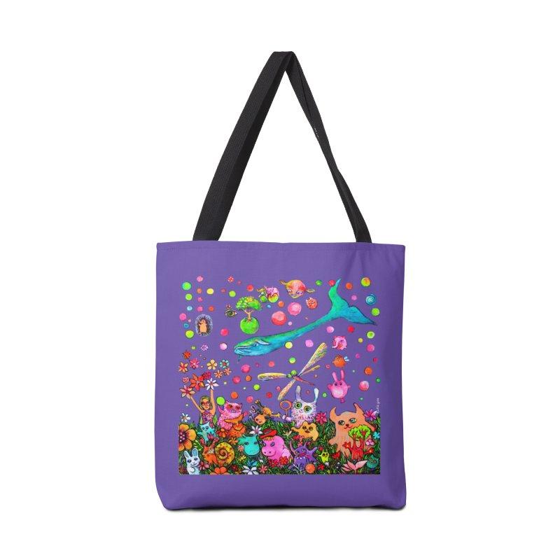 Polka Dots Accessories Bag by Katia Goa's Artist Shop