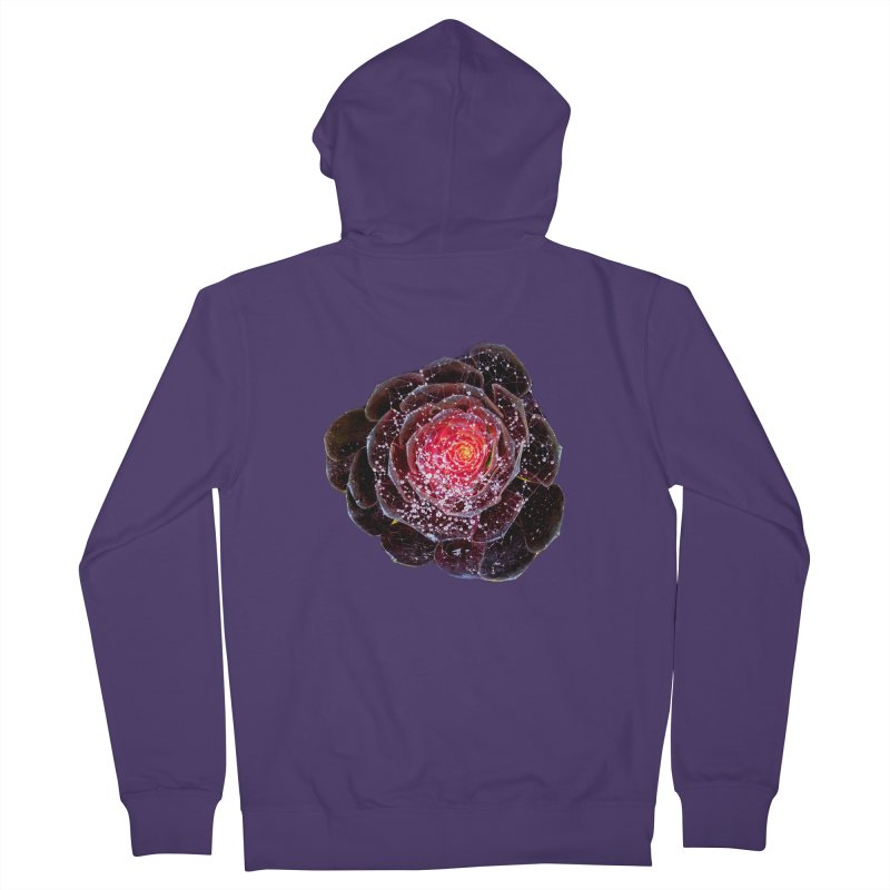 Rose Portal Women's Zip-Up Hoody by Katia Goa's Artist Shop