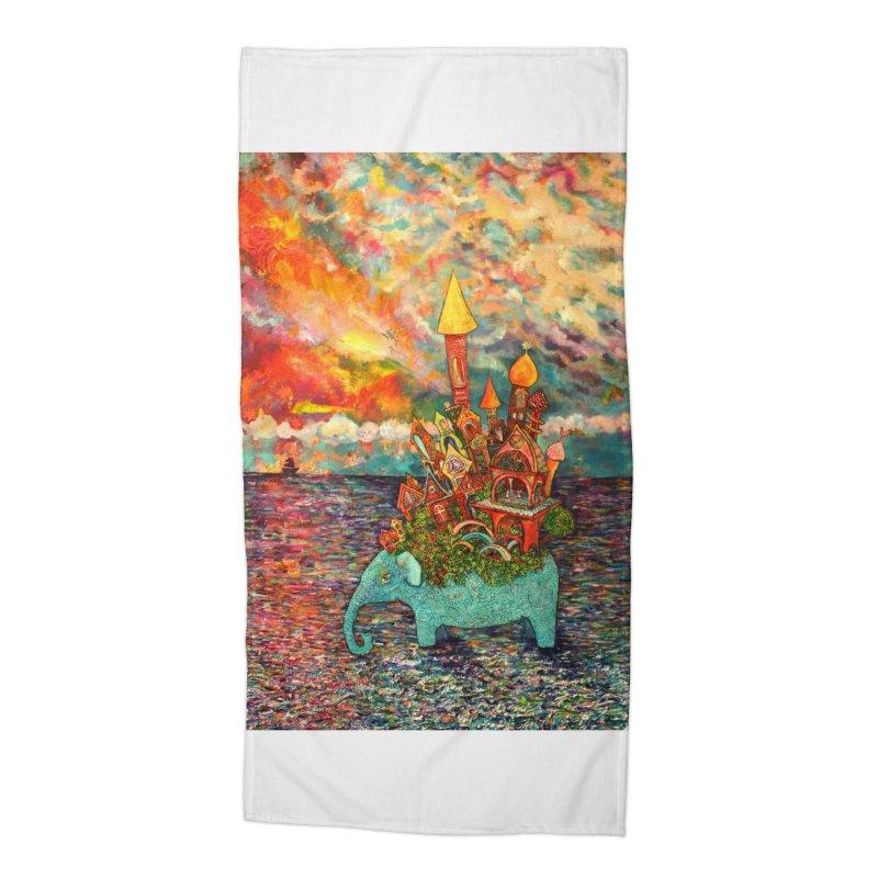 Warm Waters Accessories Beach Towel by Katia Goa's Artist Shop