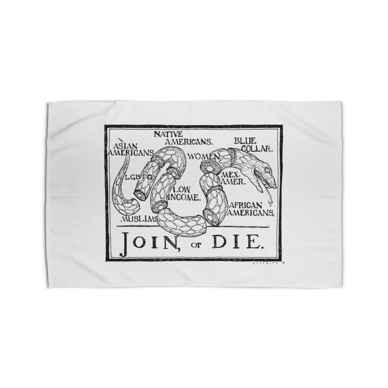 Join, or Die Home Rug by Katiecrimespree's Ye Olde Shirt Shoppe