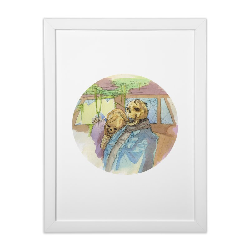 Tomorrow, Someone Will Come Home Framed Fine Art Print by Katiecrimespree's Ye Olde Shirt Shoppe